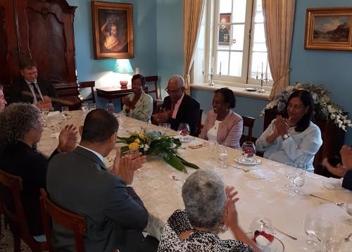 Bijeenkomst d.d. 16 mei 2016 ter afscheid van de toenmalige Ondervoorzitter van de Raad van Advies  mevr. mr. drs. B. J. Doran - Scoop