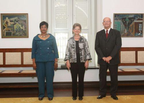 Beëdiging nieuwe leden van de Raad van Advies d.d. 14 april 2011