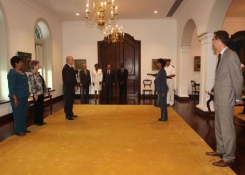 Beëdiging van mr. T. F. J. de Man tot lid van de Raad van Advies d.d. 14 april 2011